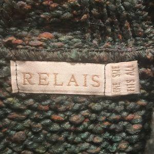 "Relais Knitware Sweaters - ""Relais"" brand, Women's, boxy sweater."
